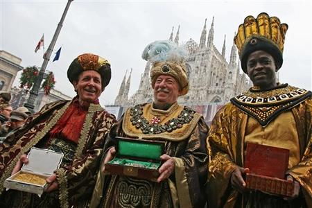 ITALY-THREE KINGS-PARADE